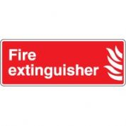 Fire safety sign - Fire Extinguisher 5 58